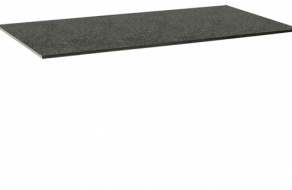 Granit, dunkelgrau gebürstet