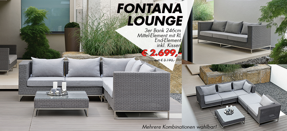 Aktion – Fontana – Lounge by Stern
