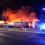 WICHTIG – Großbrand  in der Filiale X-Markt in Marchtrenk