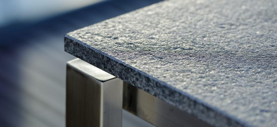 Granit Tischplatte