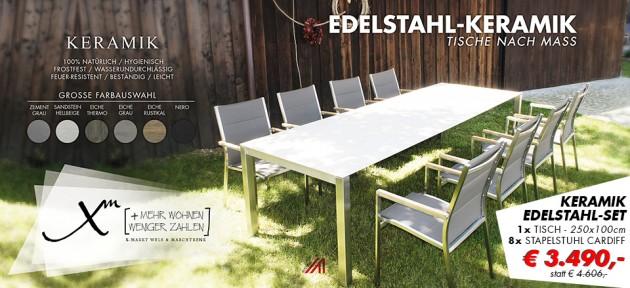 Keramik, Edelstahl, Set, Super Preis