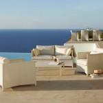 Diamond Lounge dining white – Cane Line