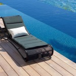 Escape sunbed black – Cane Line