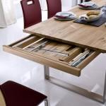 Dudinger Tisch Kufen Auszug Zargenauszug