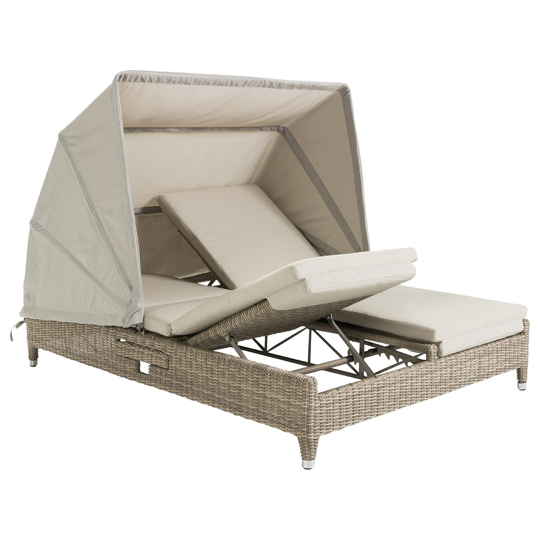 Cleveland-Sunlounger-Lecce-Harkers Island Wash-Olefin Grey Wash inkl ...